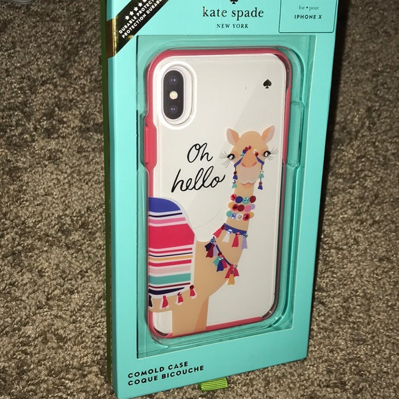 sports shoes 5c17e d353d Kate Spade Jeweled Camel iPhone Case NWT